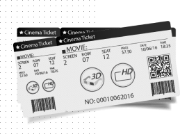 Два квитки в кіно =